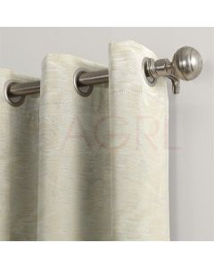 Broken Wave Ivory Dimout Curtains