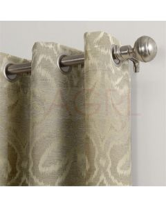 Mystic Patch Colonial Beige Dimout  Curtains