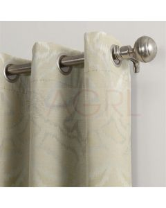 Mystic Patch Ivory Dimout Curtains