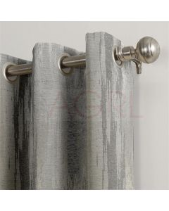 Texture Orc Silver Dimout Curtains
