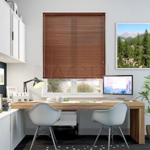 Teak Wood - Venetian Blinds